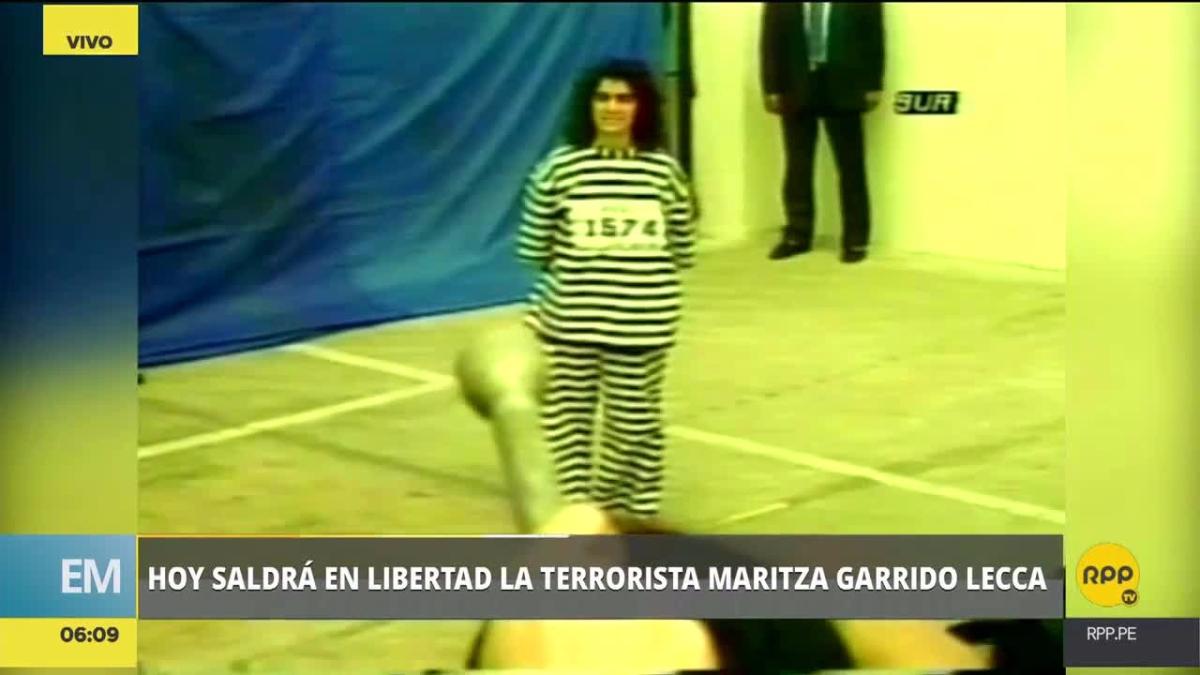 Garrido Lecca cumplió sus 25 años de pena privativa de la libertad.