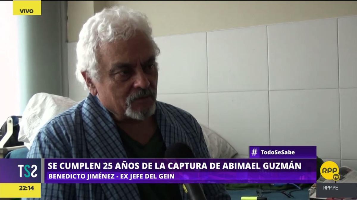 Fue la triada compuesta por Marco Miyashiro, Luis Valencia y Benedicto Jiménez la que capturó a Abimael Guzmán, según este último.
