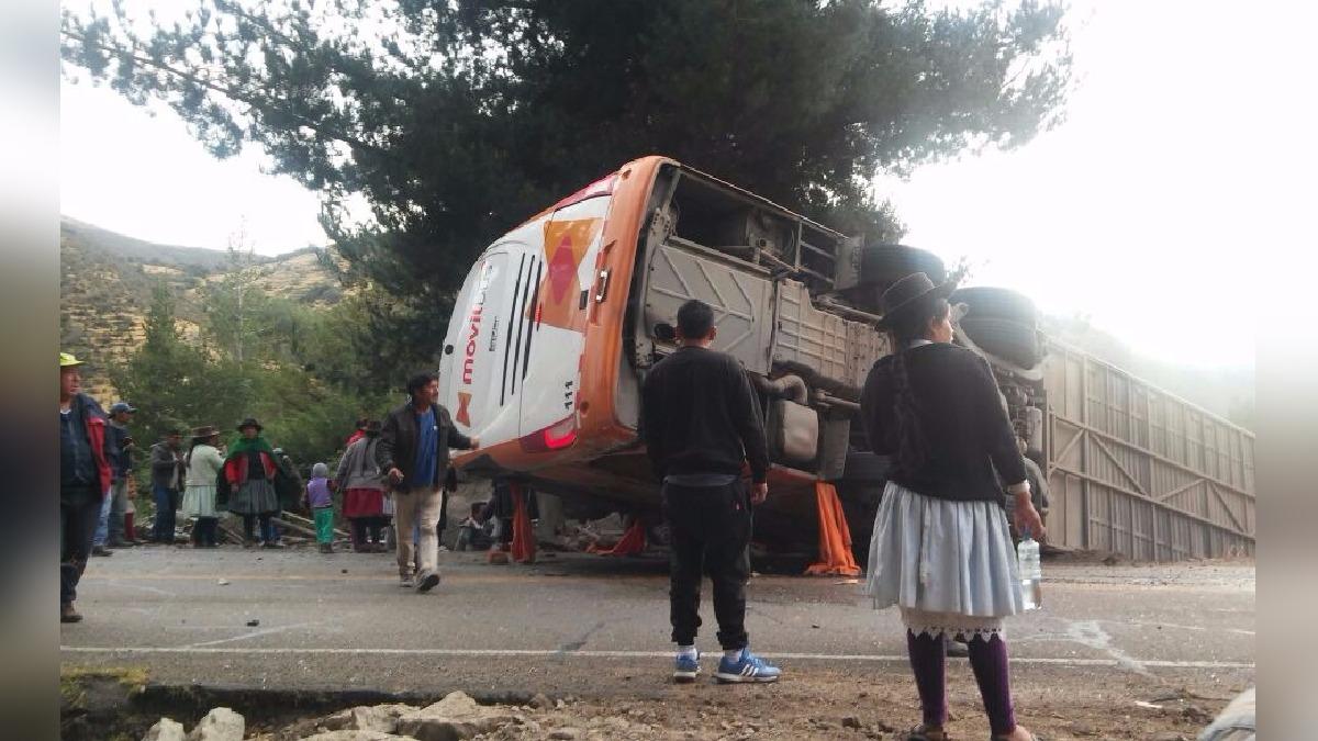 Accidente en carretera Los Libertadores.
