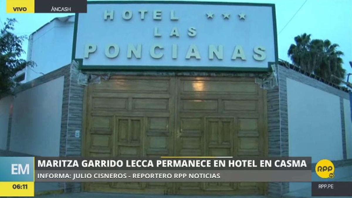 Maritza Garrido Lecca abandonó anoche el penal tras cumplir su condena de 25 años.