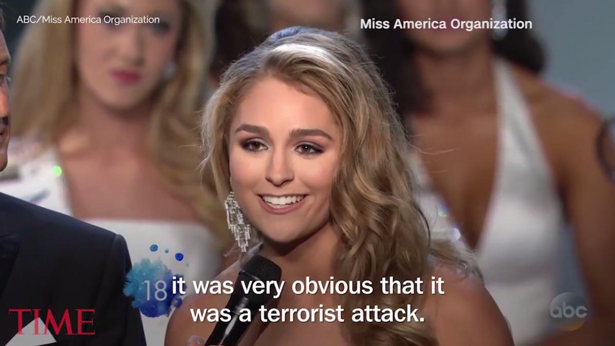 Miss Texas respondió sobre las protestas en Charlottesville