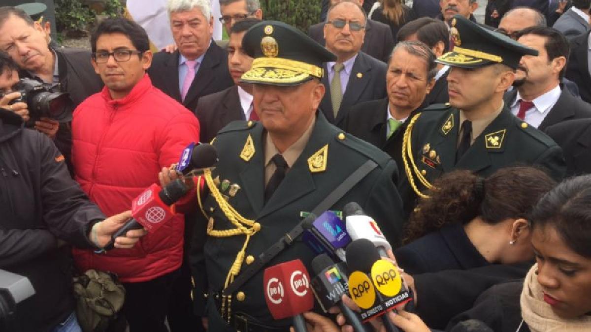 Richard Zubiate Talledo es el nuevo director general de la Policía Nacional.