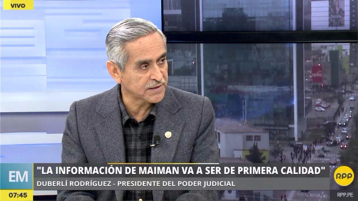 Duberlí Rodríguez habló sobre la utilidad de la declaración de Maiman en los casos que involucran a Alejandro Toledo.