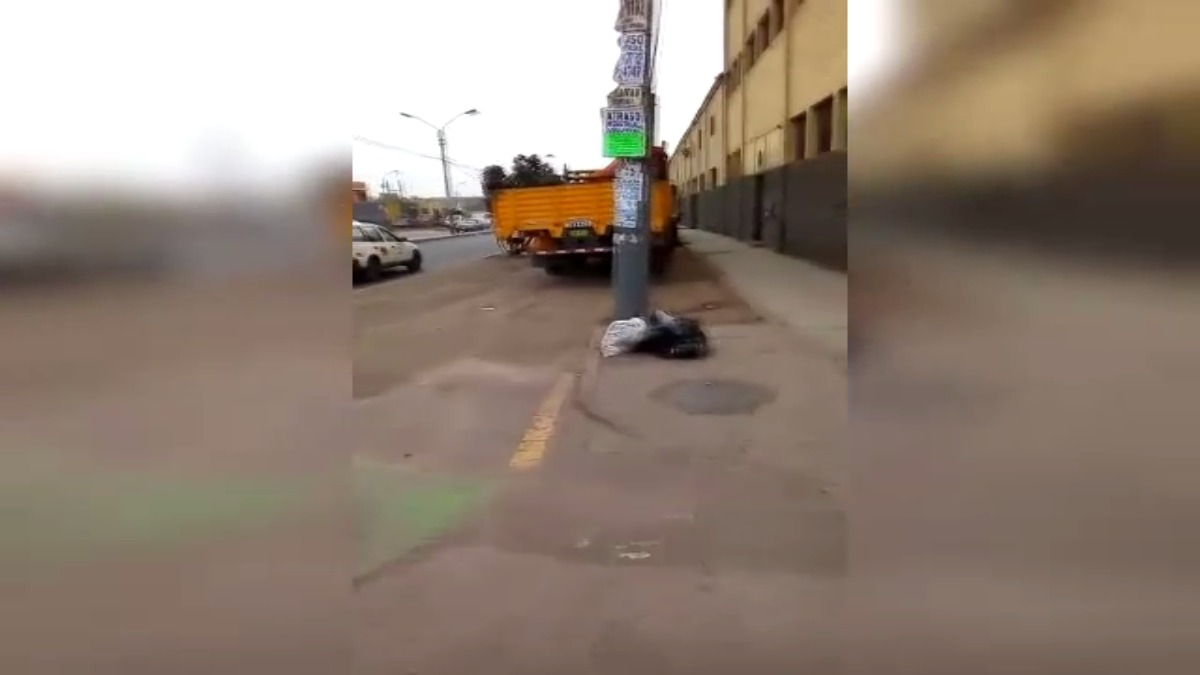 El hecho se registra a la altura de la cuadra 9 de la avenida Argentina