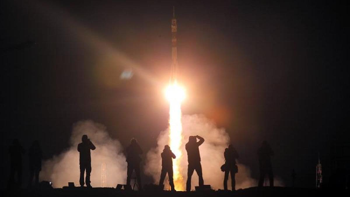 La Soyuz MS-06 se acopló con éxito a la Estación Espacial Internacional.