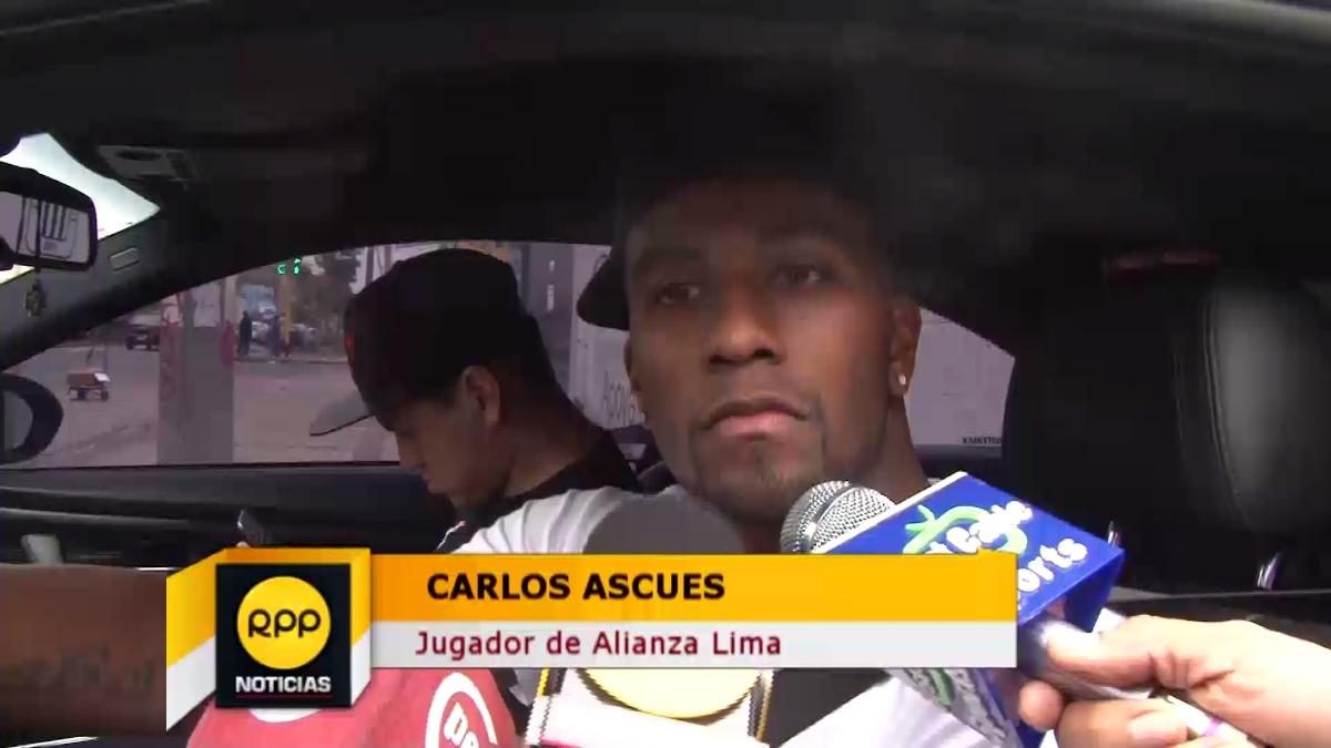 Carlos Ascues llegó a Alianza Lima procedente del FBC Melgar.