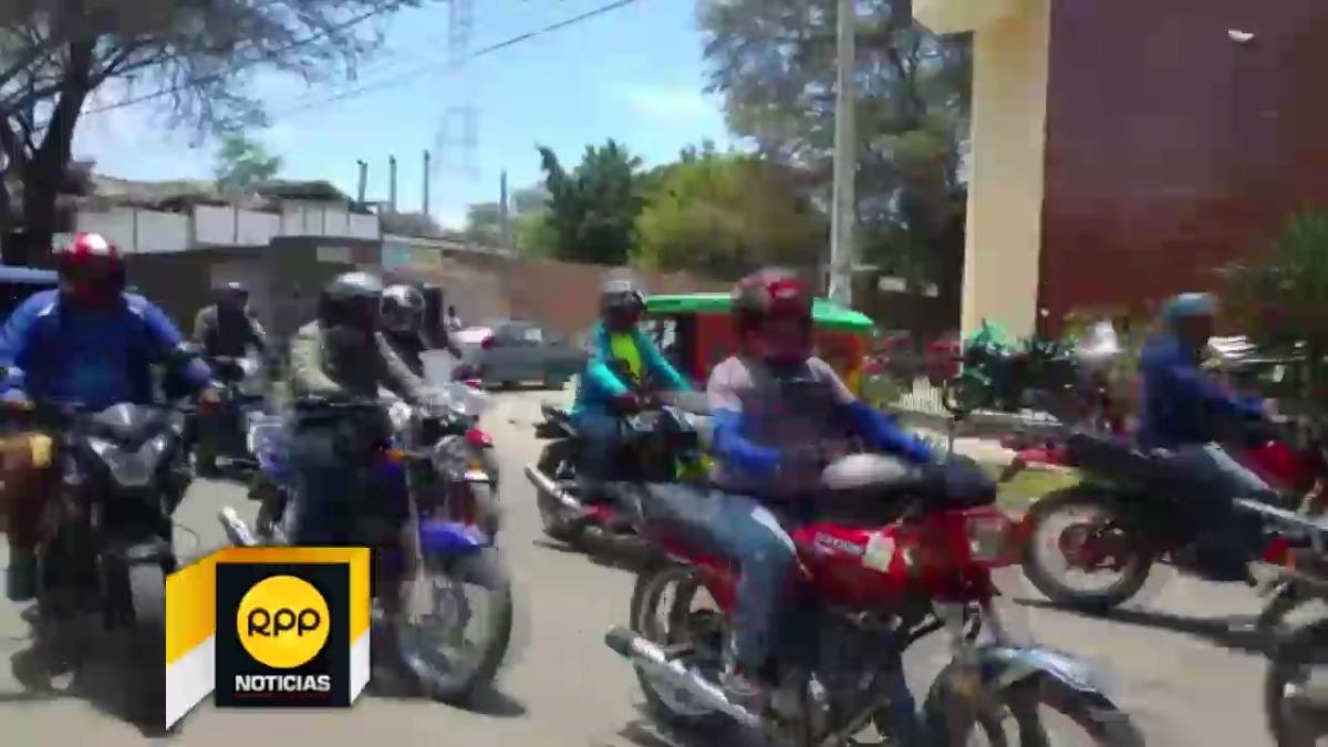Motociclista de Piura.