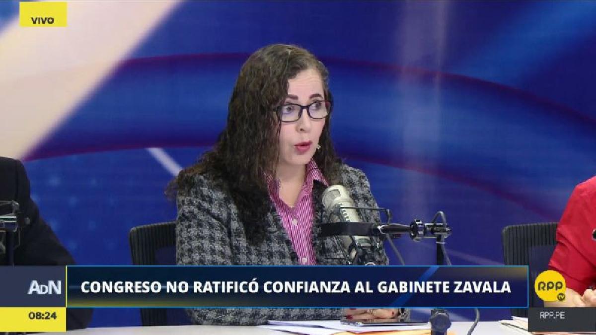 Rosa Bartra advirtió que su bancada no aceptará que el nuevo Gabinete incluya ministros del actual equipo.