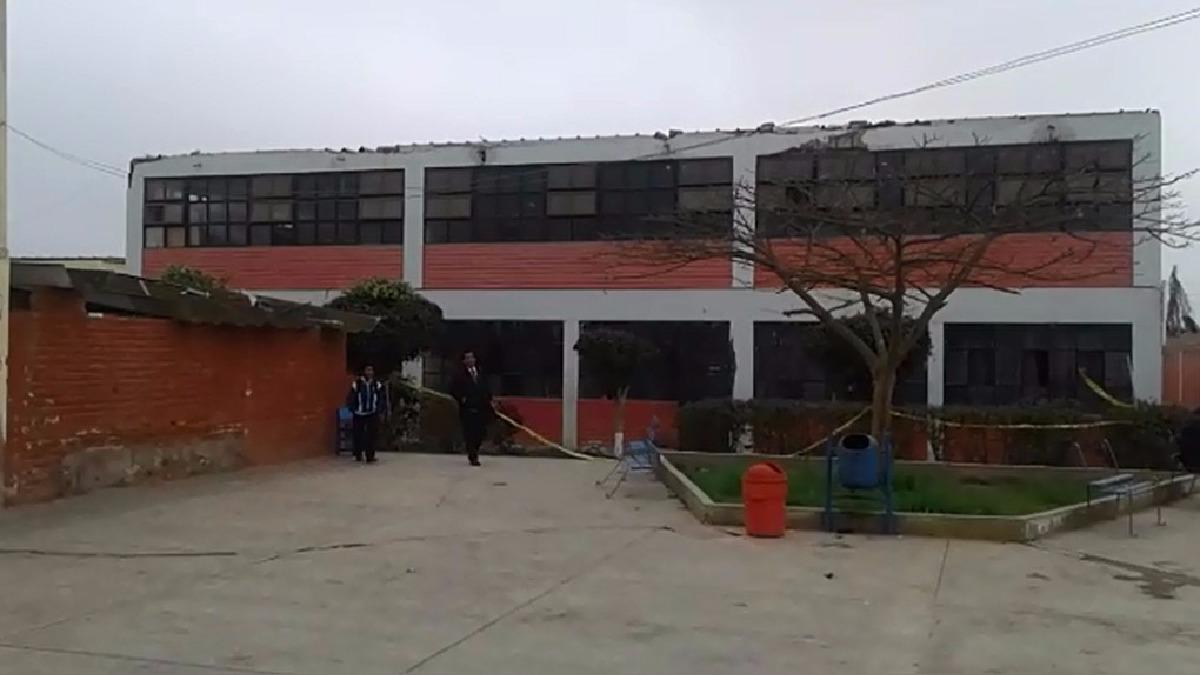 Colegio Los Naturales en riesgo.