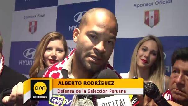 Alberto Rodríguez es parte de la columna vertebral del '11' de Ricardo Gareca.