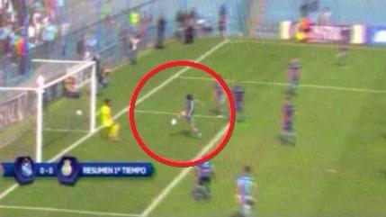 Revisa la jugada de Jorge Cazulo en el Sporting Cristal vs. Real Garcilaso.