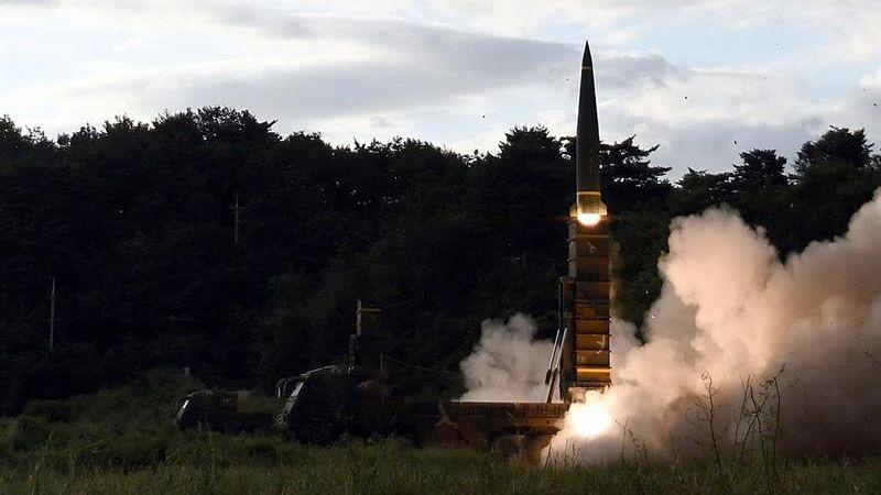 El misil lanzado por Corea del Norte sobrevoló territorio japonés.