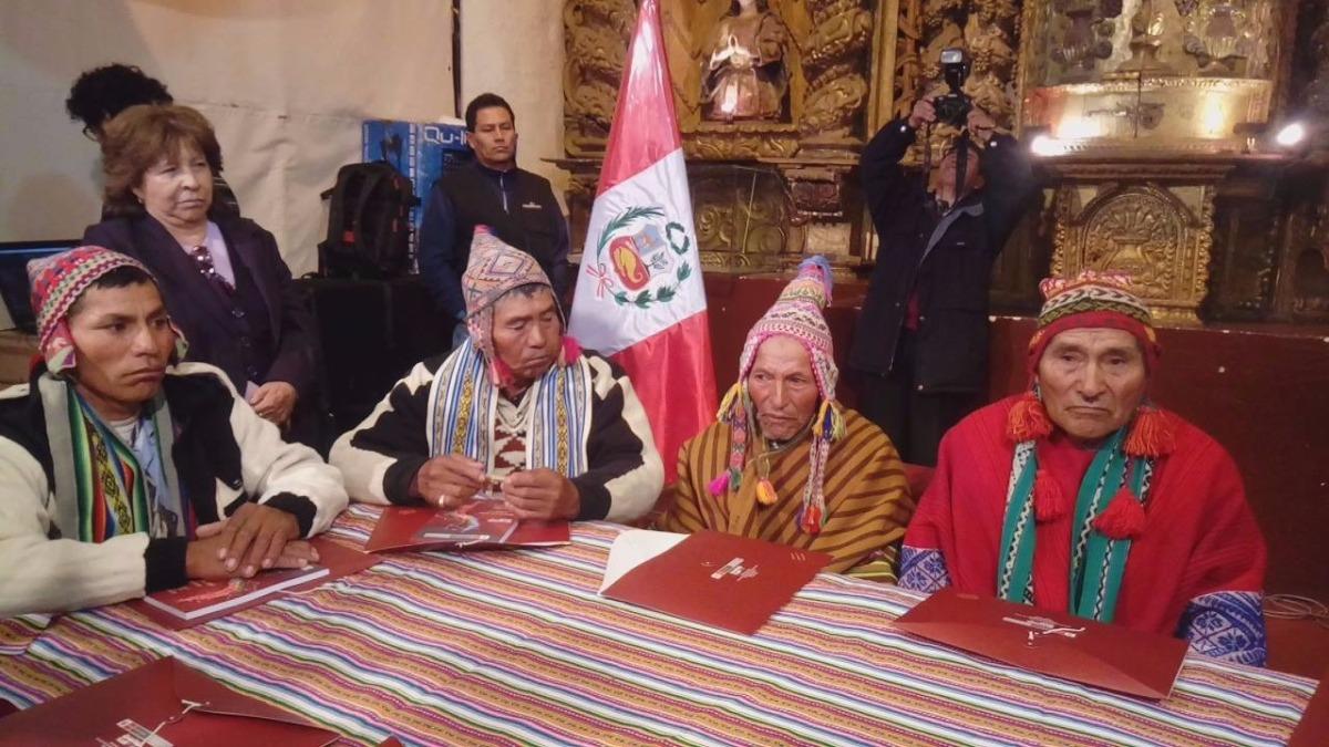 Comuneros se reunieron en primer Encuentro de Narradores del Qhapaq Ñan, realizado en la Casa de la Cultura.