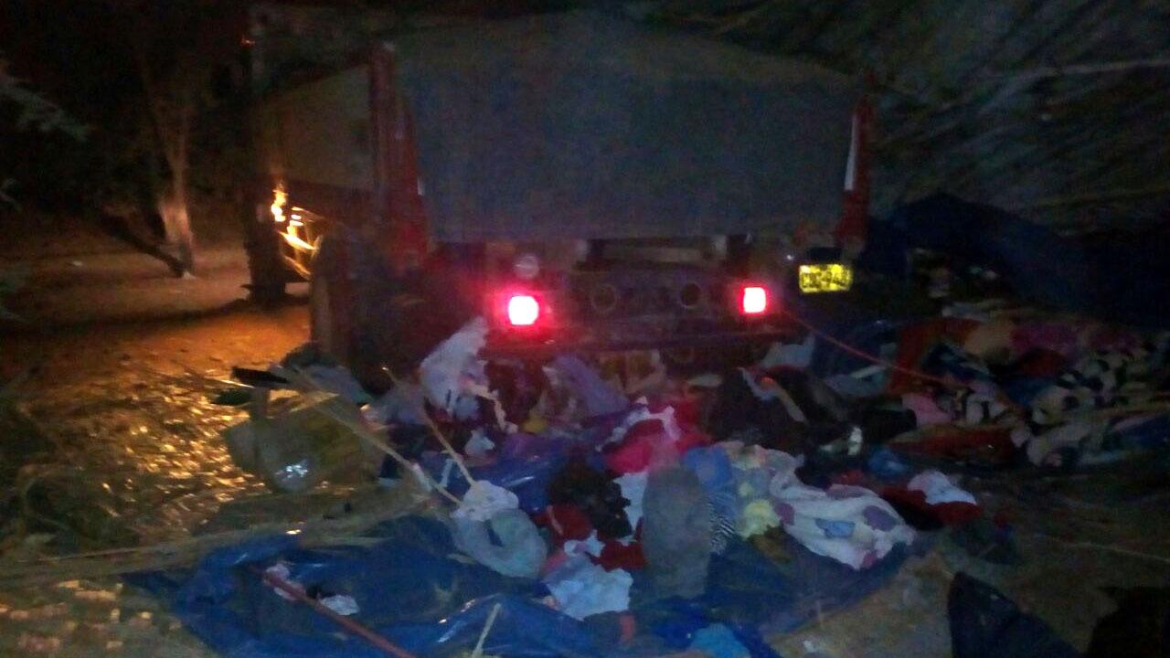 Un camión fuso de placa C8C-948 se estrelló contra una vivienda. El chofer se dio a la fuga.