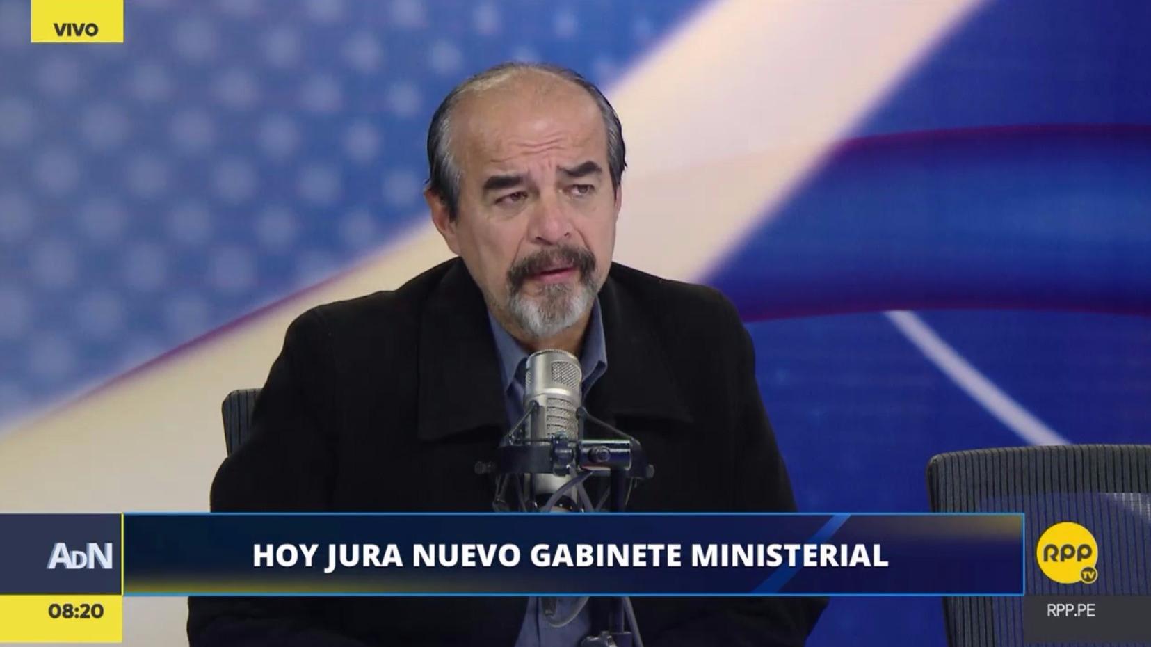 Mauricio Mulder comentó sobre los nuevos ministros del gabinete Mercedes Aráoz.