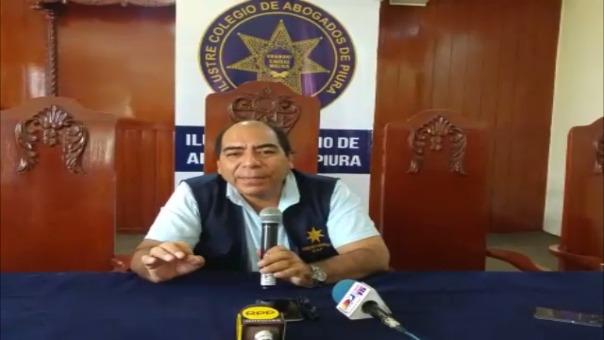 El decano del Colegio de Abogados, Manuel Castillo Venegas, dijo que esto asegurará que todo el proceso de reconstrucción sea con transparencia.