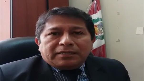 Juez Héctor Añanca declara sobre la orden de captura del alcalde de Salas.