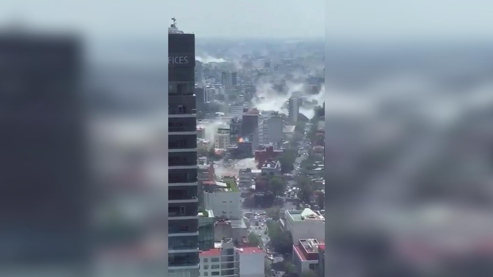 Así se ve Ciudad de México desde las alturas