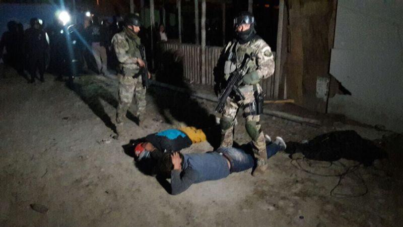 'La Gran Sangre del Sur' operaba en Pisco, Chincha e Ica, pero también en Huancavelica y Ayacucho.
