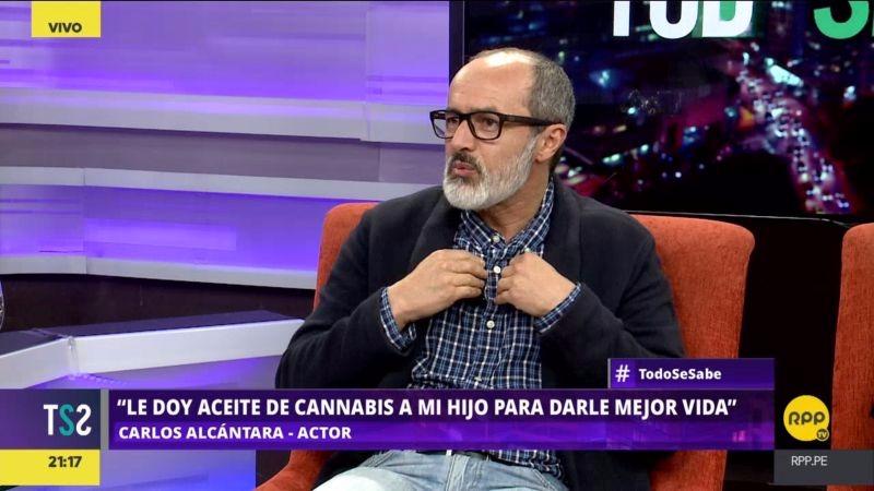 El actor afirmó que él está a favor de aprobar el uso de cannabis medicinal porque es una opción para las familias de que no pueden acceder a medicinas costosas.