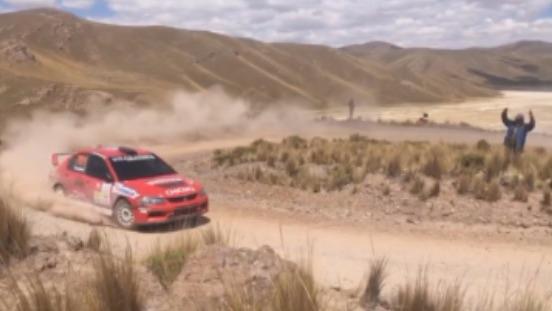 Presentación del Rally Caminos del Inca 2017.