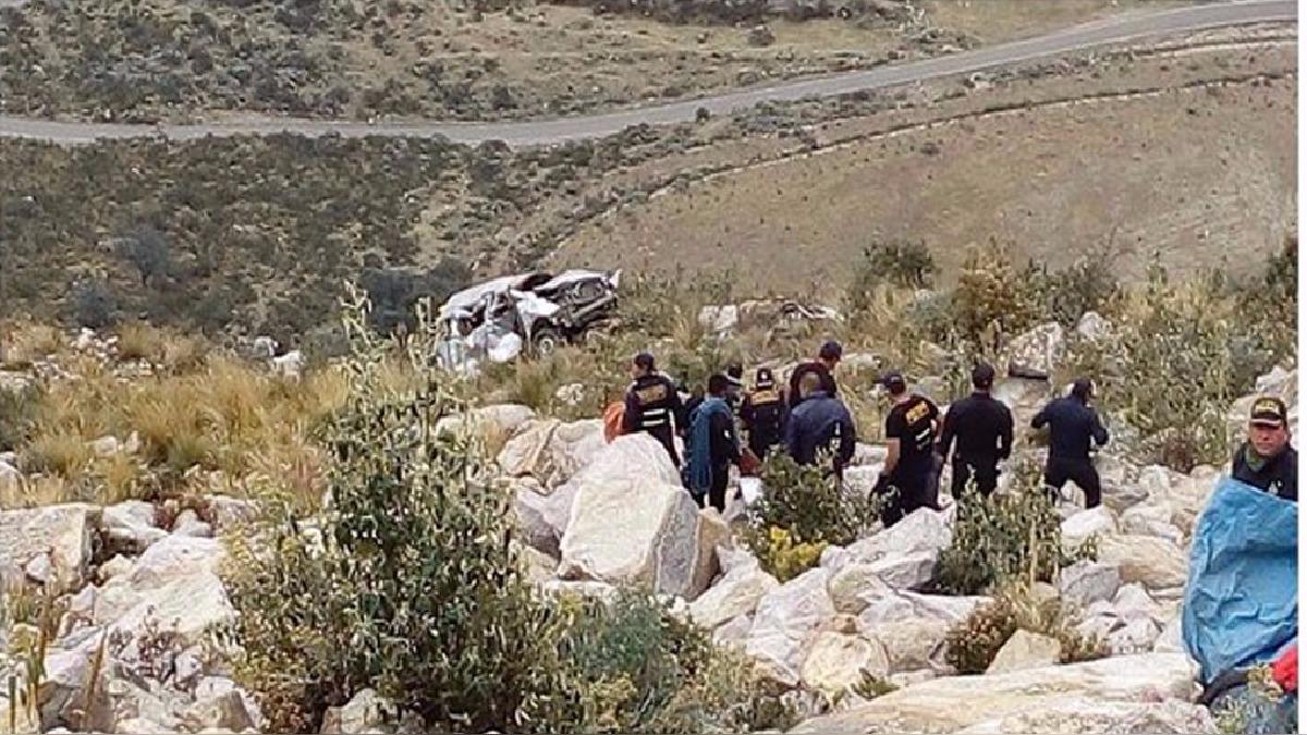 Accidente en Carhuaz.