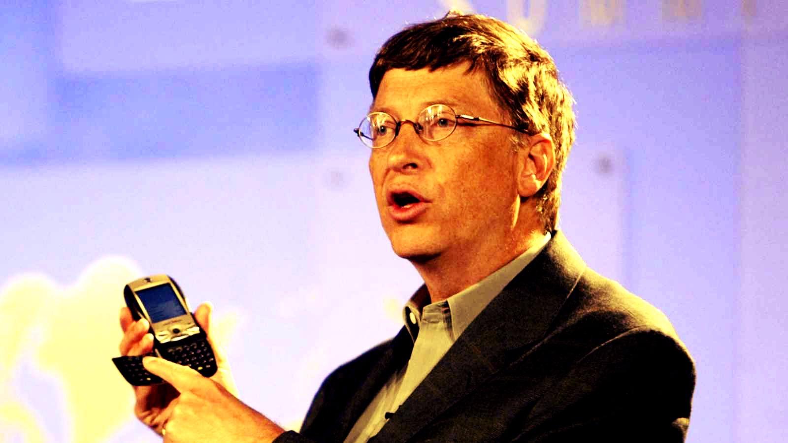 Bill Gates fue CEO de Microsoft entre 1975 y 2008.
