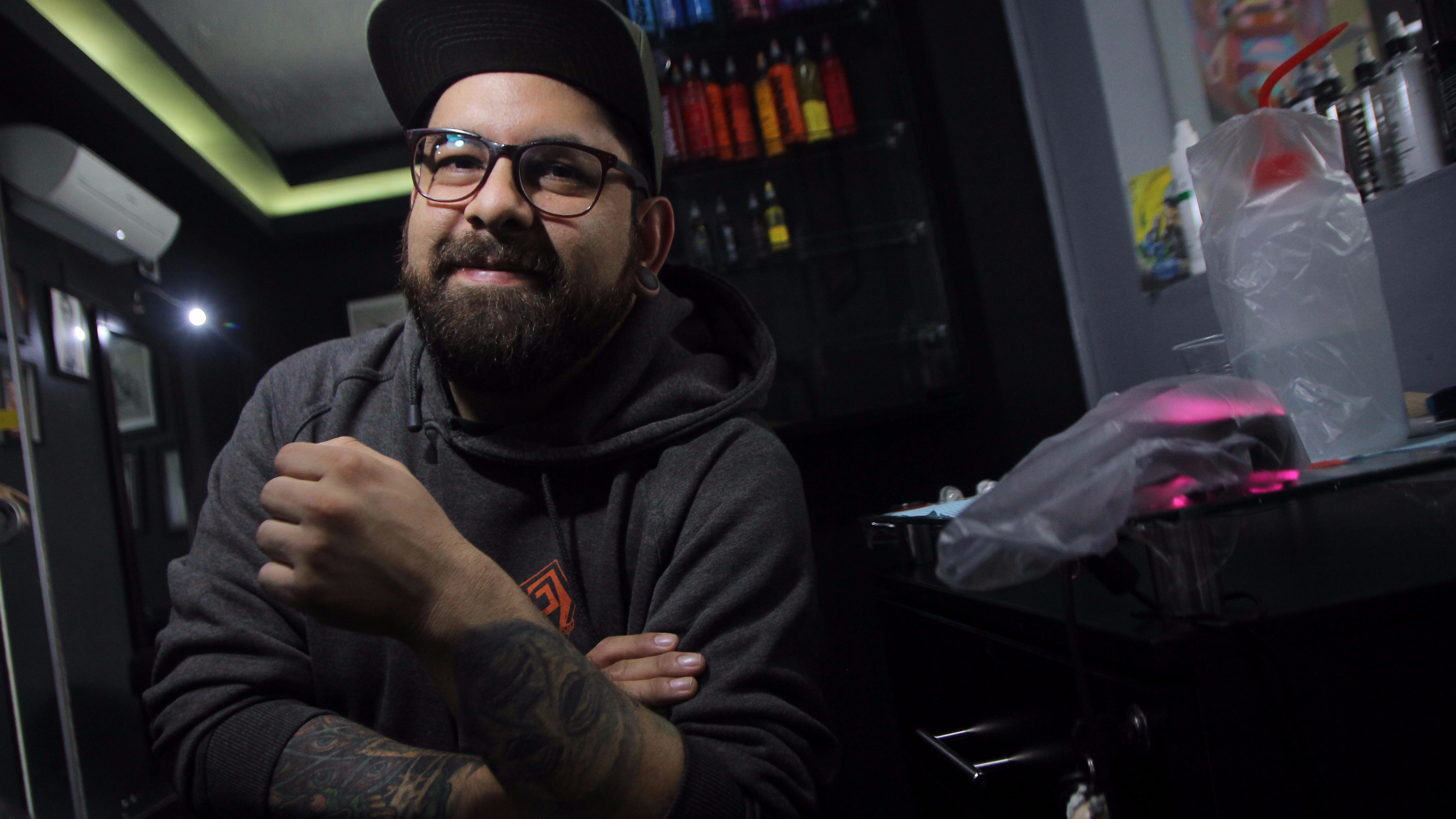 Daniel Moreno pasea su arte por todo el mundo.