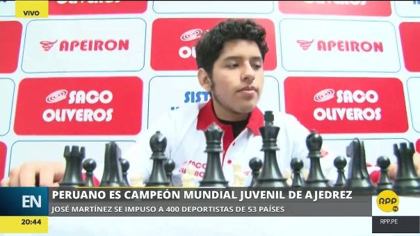José Martínez venció a 400 deportistas de su categoría provenientes de 53 países para ganar su segundo mundial juvenil.