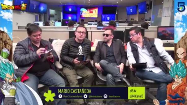 Este es el momento en que Mario Castañeda deja el demo de Gokú Black.