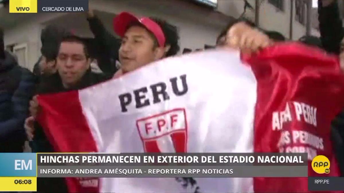 Algunos hinchas conversaron con RPP Noticias sobre su esperanza de poder comprar entradas en el Estadio Nacional.