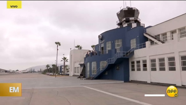 RPP recorrió la base aérea Las Pamas.