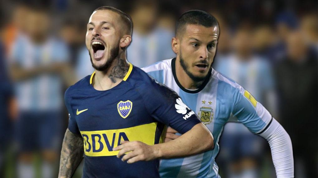 Darío Benedetto es delantero de Bocas Juniors y está acostumbrado a meter goles en La Bombonera.