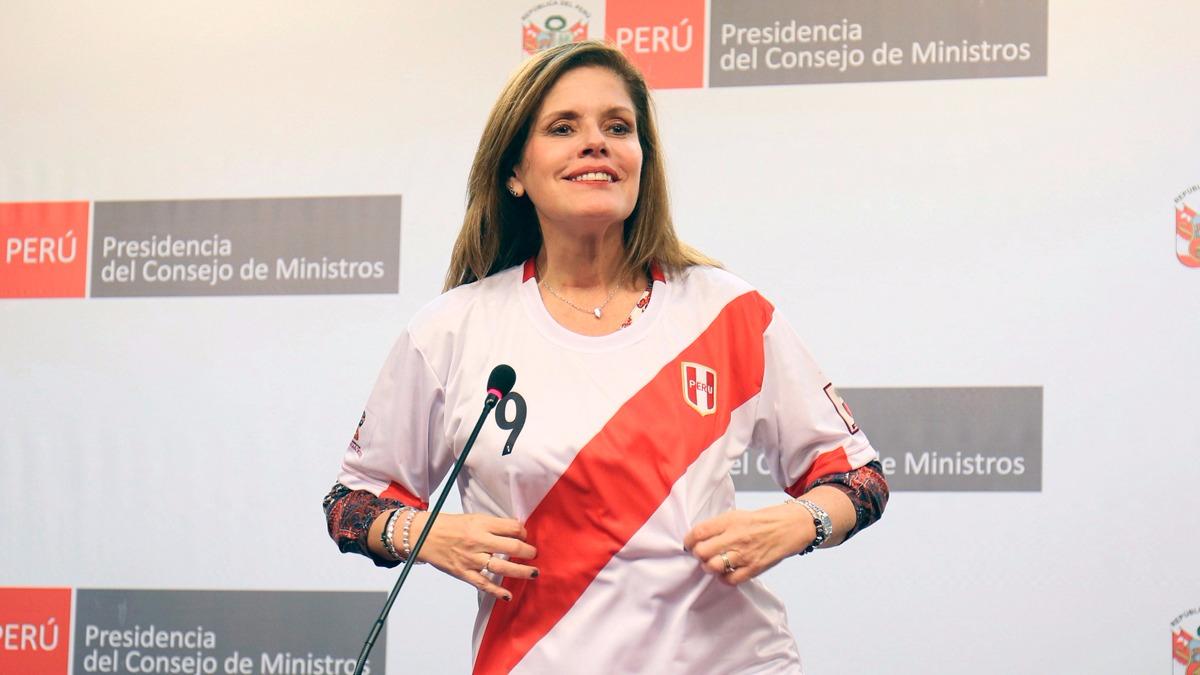 Mercedes Aráoz cree que los cambios en el gabinete serán positivos para el Gobierno y dijo que sus reuniones con las bancadas del Congreso fueron positivas.