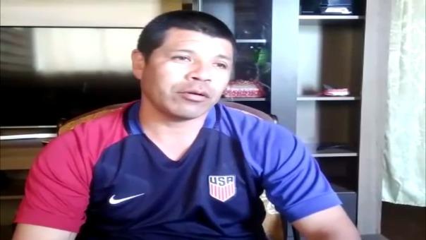 Familias de Luis Advincula y Wilber Cartagena esperan triunfo de Perú.