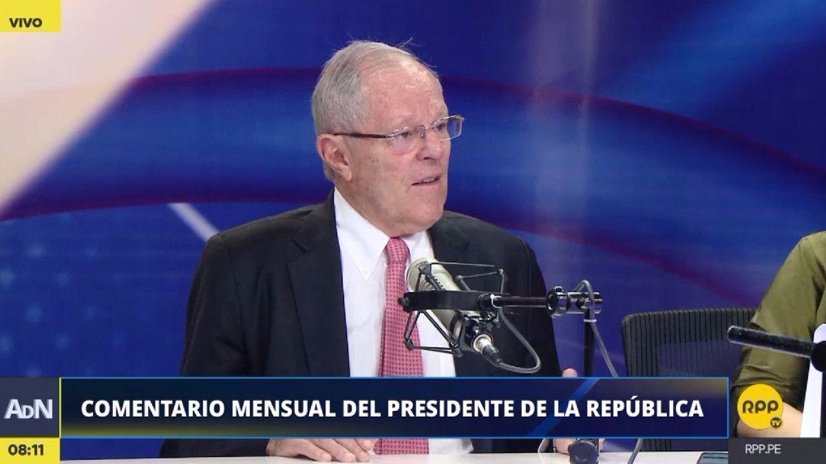 PPK sobre Fernando Zavala y los recientes cambios en el Ministerio de Justicia.