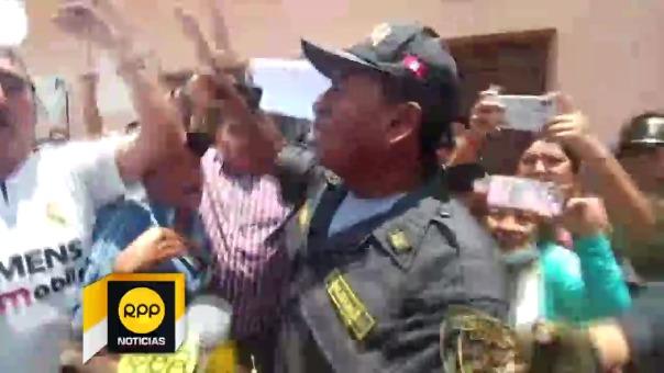 Policía  asumirá sanción de su institución.