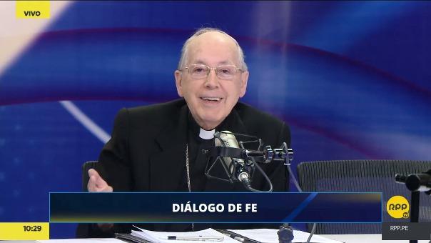 El cardenal Cipriani dijo que confía en la Selección Peruana y sus posibilidades de llegar al Mundial.
