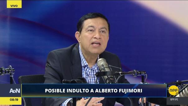 El ex abogado de Fujimori, William Paco Castillo, sostuvo que un hipotético indulto en favor del expresidente no es apelable.