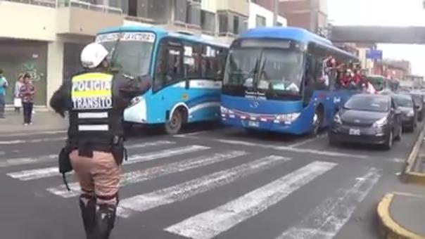 La Policía Nacional publico un vídeo para demostar sus apoyo a la selección peruana