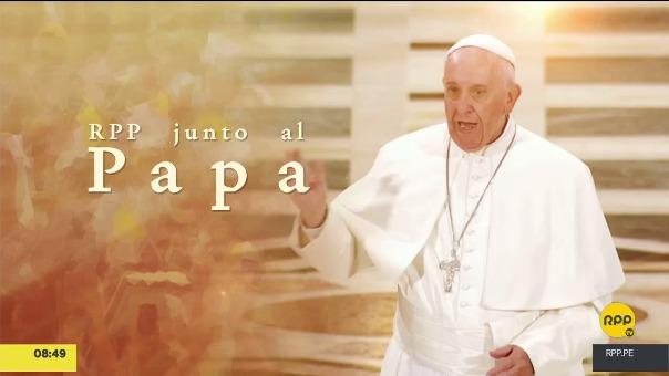 RPP Noticias iniciará el conteo de 100 días antes de la llegada del papa al Perú.