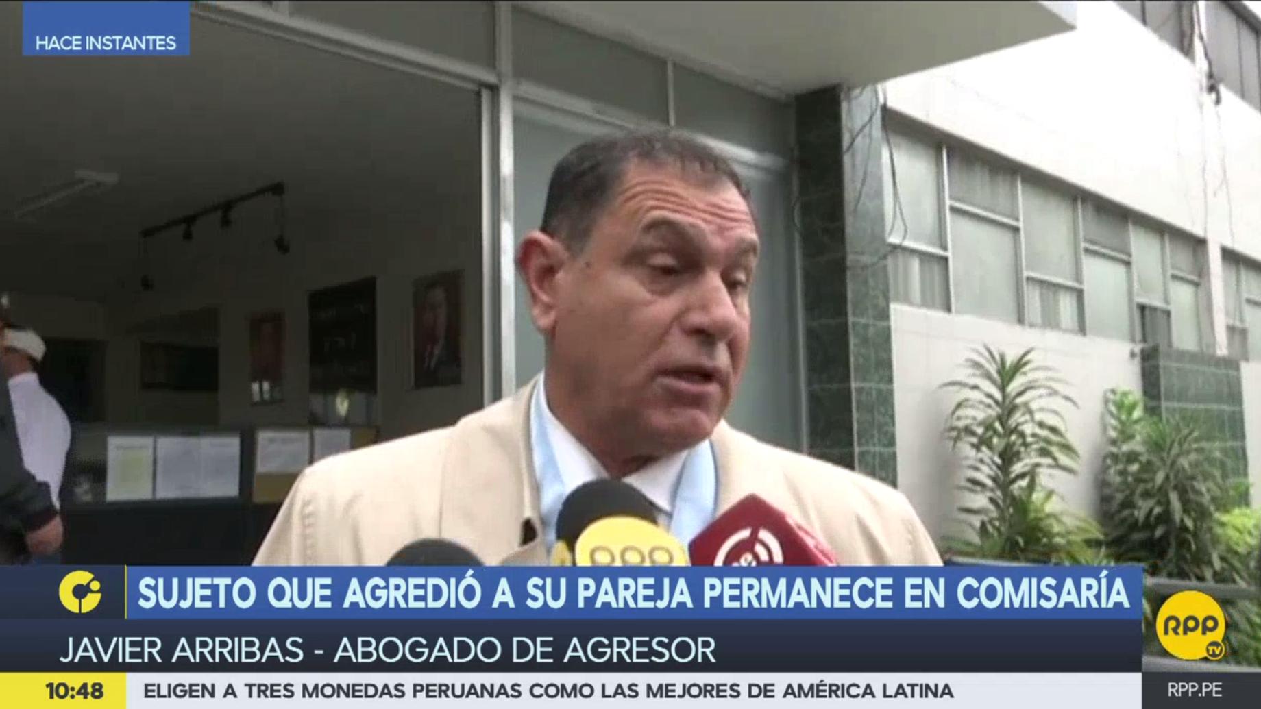 Javier Arribas asistió nuevamente la mañana del lunes para defender a Martín Camino.