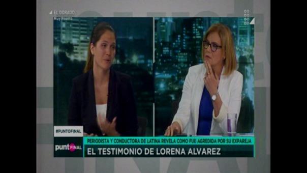 Minutos antes, Juan Mendoza había sido entrevistado en Panorama y se exculpó de cualquier denuncia de agresión.