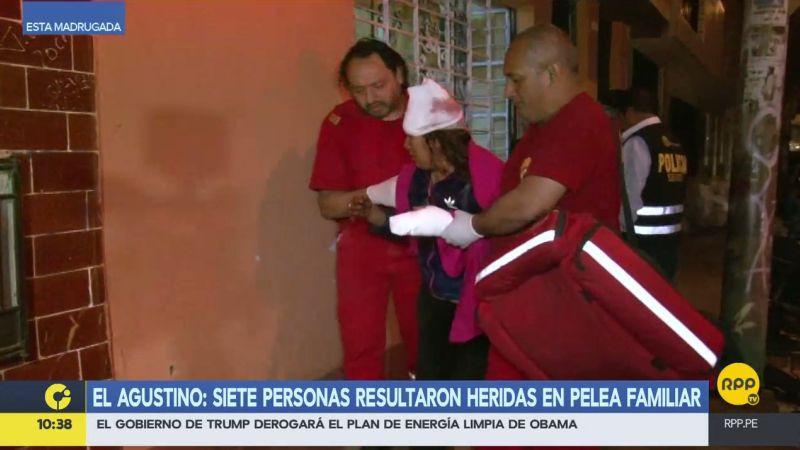 Juan Hernán Cusihuamán y Julia Teresa Saldarriaga fueron acusados de iniciar la gresca que terminó con siete personas heridas.
