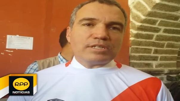 Durante actividades en Ayacucho, el ministro del Solar tuvo un momento para manifestarse sobre el reconocido artista.
