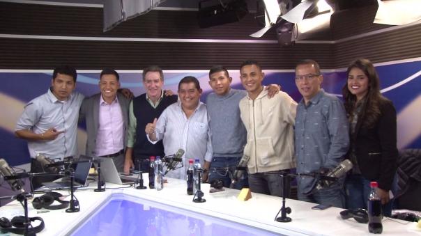 La entrevista completa a los jugadores de la Selección Peruana.