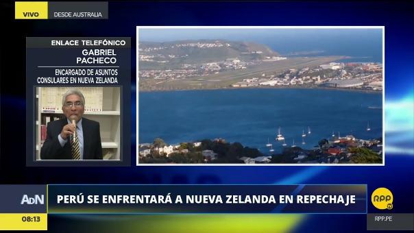El embajador Gabriel Pacheco conversó con RPP Noticias sobre Nueva Zelanda, el país que se enfrentará a Perú en el partido de repechaje.