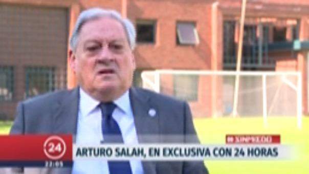 Arturo Salah salió a aclarar que no reclamarán contra Perú y Colombia.
