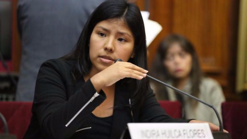 La parlamentaria aseguró que la violencia contra la mujer no es un asunto para tomar a la ligera.