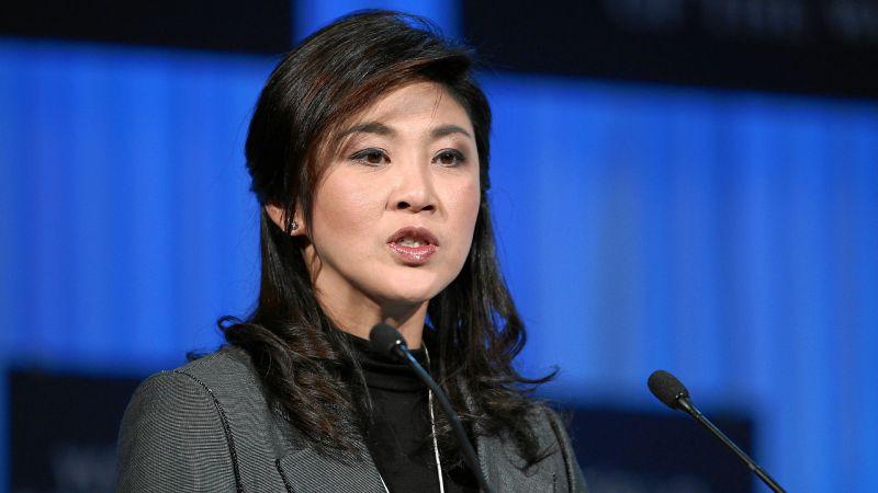 Yingluck Shinawatra huyó de Tailandia unos días antes de que se emita la sentencia en su contra.
